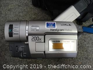 Sony Video Camera untested