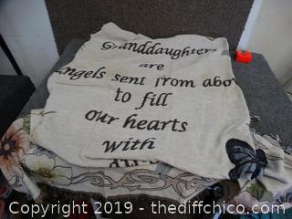 Granddaughters Throw Blanket