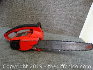 "Homelite  Chainsaw Has Compression 13"" Bar"