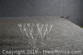 7 Liqueur Glasses
