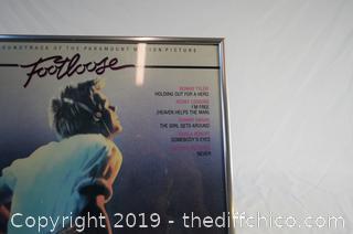 Framed Footloose Album
