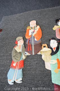 Lot of Oriental Figures
