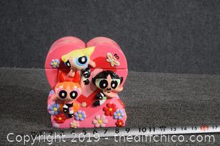 Collectible PowerPuff Girls Cookie Jar