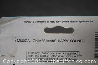Vintage Roly Poly Snoopy Musical Toy New in Package