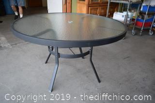 New Patio Table