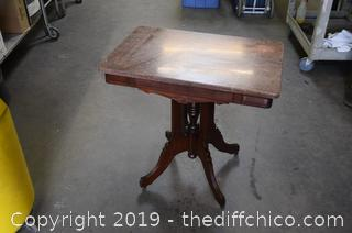 Marble Top Occasional Table