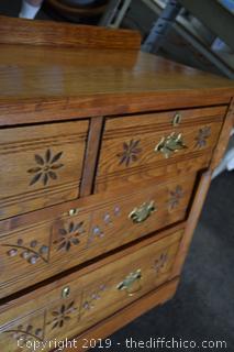 Ash 6 Drawer Dresser