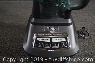 Working Ninja 1500 Blender