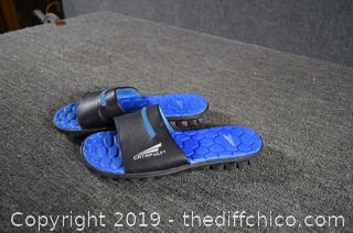 Pair of Catapult Sandals size 10