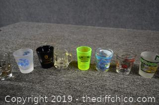 17 Shot Glasses
