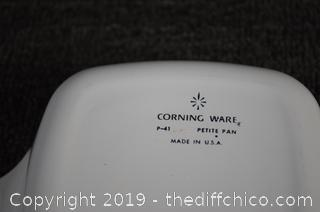 4 Corning Ware Dishes