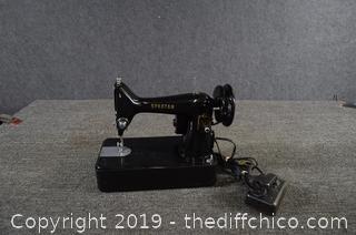 Working Singer Spartan Vintage Sewing Machine