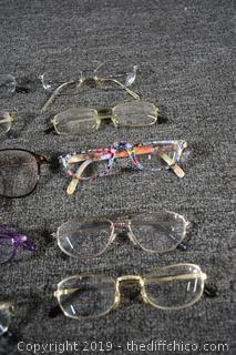 10 Pair of Reading Glasses