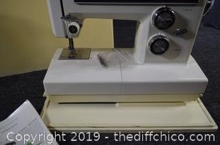 Untested Kenmore Sewing Machine-needs cord