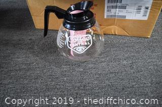 NIB 3 Commercial Coffee Pots