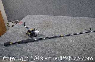 78in long Fishing Pole w/Reel