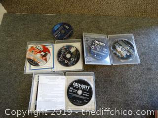 PSP, PS3 Games