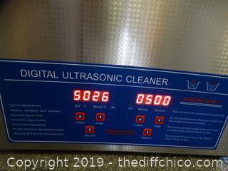 Digital Ultrasonic Cleaner wks
