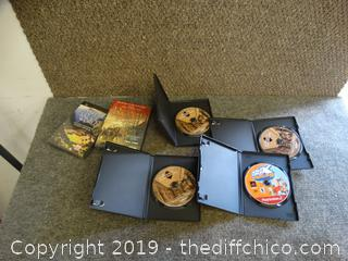DVDS & 1 Game