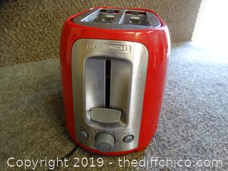 Working Black & Decker Toaster