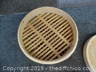Bamboo Steamer/ Warmer