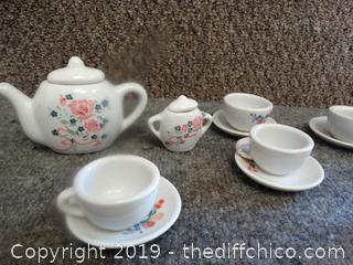 Kids Tea pot Set