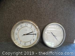 2 Clocks untested