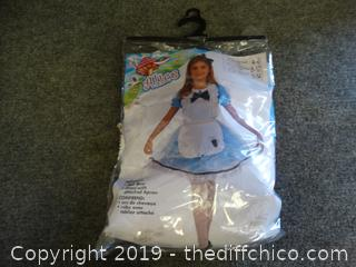 KIds Alice Costume Size 8-10