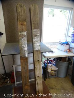 "6' X 6""X 7/8 Wood Boards (10)"