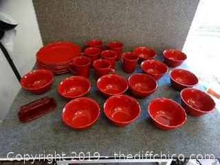 Better Homes Stone Ware Dishes
