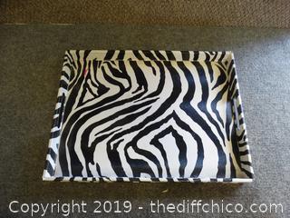 Zebra Tray