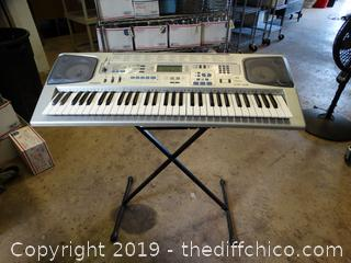 Casio Working Key Board with Stand
