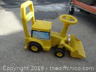 Plastic Ride Toy