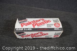 NIB Painters Plastic