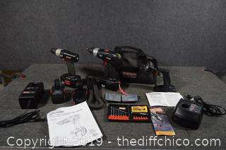 Craftsman Drills and More-need new batteries