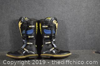 Gaerne Motorcycle Boots - size 8
