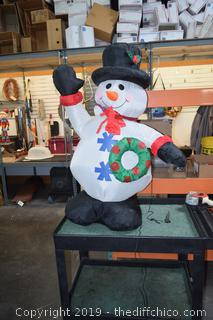 50in tall Inflatable Snowman