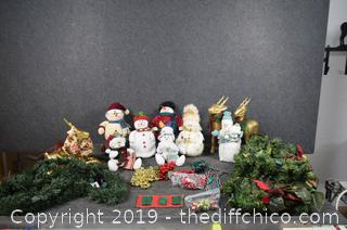 Christmas Snowmen and More