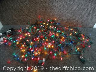 Working Christmas Lights
