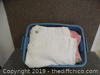 Tub  Of Towels