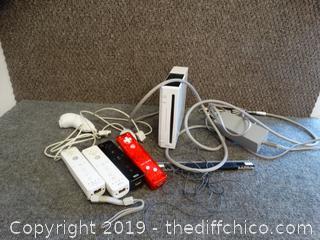 Wii &  Accessories wks