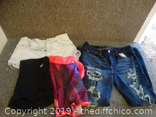 Young Ladies Clothes Lot