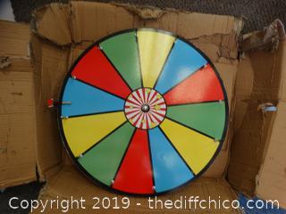 "NEW 24"" Game Wheel"