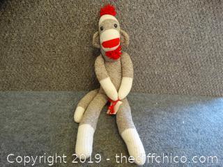 Old Fashion Sock Monkey