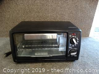 Working Black & Decker Toaster Oven