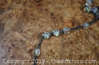 Vintage Crystal Rosary