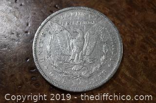 1886 O Morgan Dollar 90% Silver