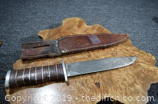 Home Made Knife w/Sheath