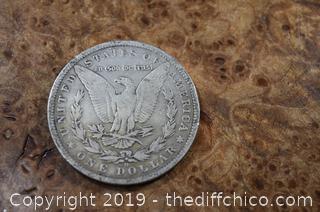 1882 O Morgan Dollar 90% Silver
