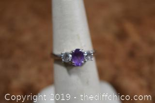 Costume Jewelry Ring Size 7